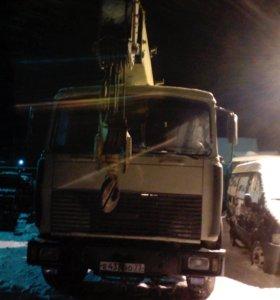 Услуги автокрана МАЗ-14 тон 14метров