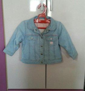 Курточка джинсовая на подкладе