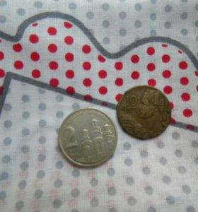Иностранные современные монеты