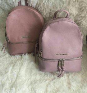 Рюкзак женский майкл корс сиреневый розовый