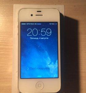 iPhone 4s 8gb (iOS 7.1.2)