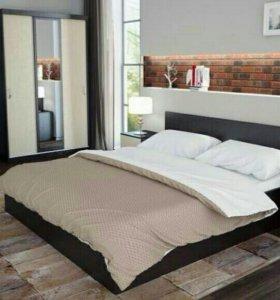 Новый спальный гарнитур с матрасом