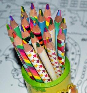 Карандаш четырехцветный