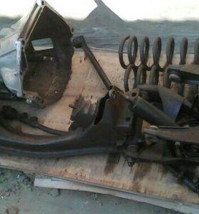 Передния подвеска,КПП-4