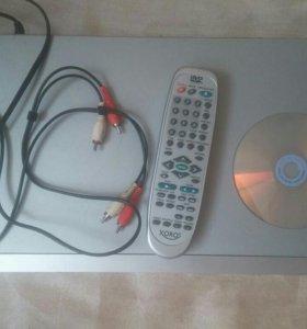 DVD-плеер.