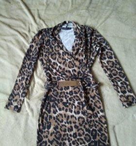 Платье леопардовое Joymiss👗