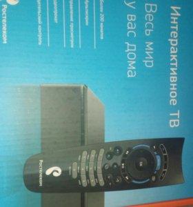 Комплект интерактивного телевидения Ростелеком