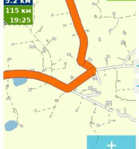 Карта месторождений для навигатора
