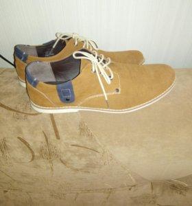 Туфли мужские, 44 размер, маломерят