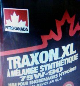 Масло в трансмиссию канадское PETRO-CANADA 75W90