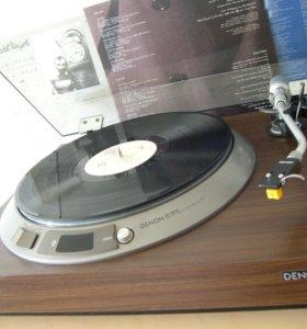 Проигрыватель виниловых пластинок Denon DP-1600