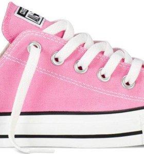 Converse розовые женские