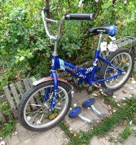 велосипед на 5-10 лет