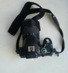 Зеркальный фотоаппарат Pentax K-x