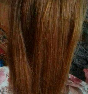 Волосы для ленточного наращивания(славянка)