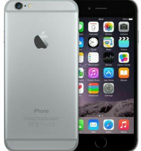 Новый iPhone 6 16Gb Space Grey (оригинал)