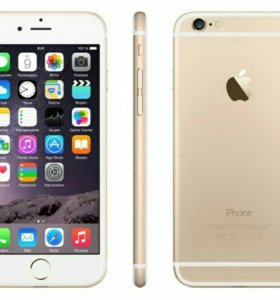 Новый iPhone 6 16Gb Gold (оригинал)