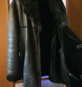 Дубленка мужская,натуральный мех