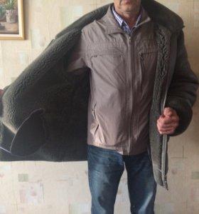 Дубленка зимняя мужская р50