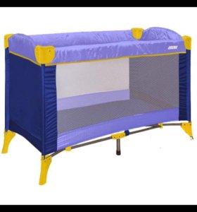 Кровать-манеж Бертони