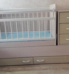 Кроватка детская - трансформер