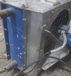 Калорифер водяной с вентилятором