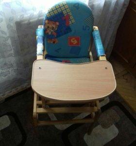 Стул- стол для кормления ребёнка и муз.ходунки
