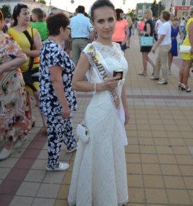 Выпускное( свадебное) платье