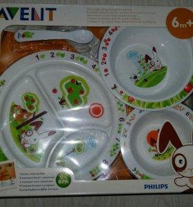 Philips Avent Набор для кормления малышей от 6 мес