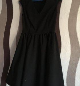 Платье 44 черное Бифри