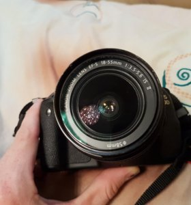 Canon 600d 18-55mm +50mm