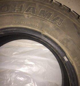 Зимние шины Yokohama 265/65 R17 G073 комплект