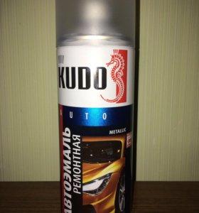 Эмаль автомобильн KUDO чёрный металлик Hyundai D01