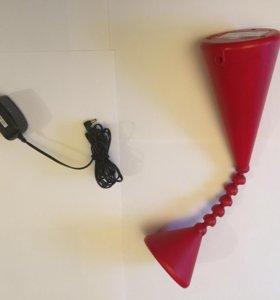 Лампа БУ на двигающейся ножке