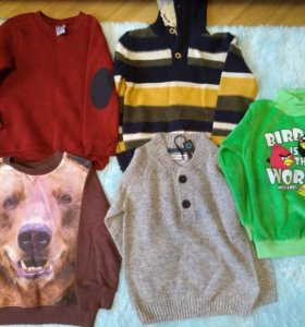 Новые свитера и толстовки