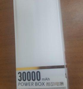 Внешний аккумулятор 30000мАh