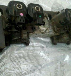 Рампа с электромагнитами на SCANIA HPI