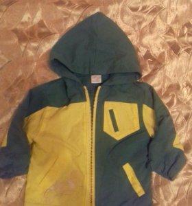 Куртка-ветровка детская 74-80 см