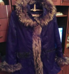 Зимняя куртка с нат.подкладом
