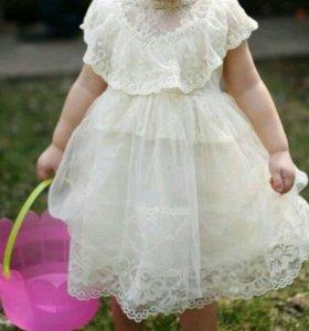Платье для малышки 2 года