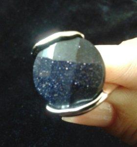 Кольцо с авантюрином.