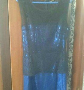 Новое мини платье рр 42-44