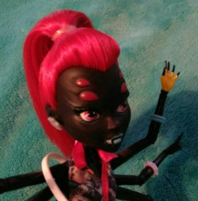 Wydowna Spider - I love fashion Monster High