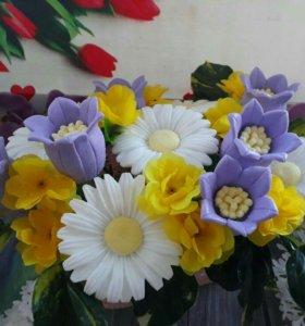 """Букет из мыла """"Полевые цветы"""""""