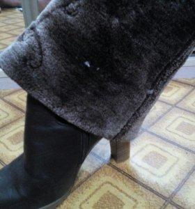 Сапоги с теплым мехом