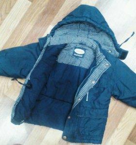 Теплая куртка(98)