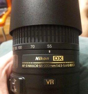 Объектив AF-S NIKKOR 55-300mm 1:4.5-5.6G