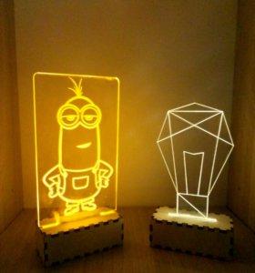 Светильник-ночник мини