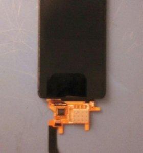 Экран(матрица+сенсор) Motorola Moto E