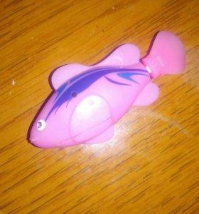 Рыбка для игры в ванной